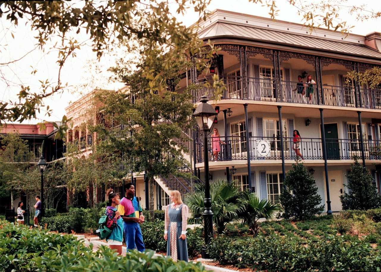 Disney\'s Port Orleans French Quarter